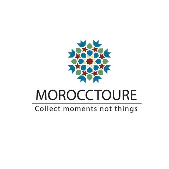 Logodesign für einen Reiseleiter/Touristenführer in Marokko