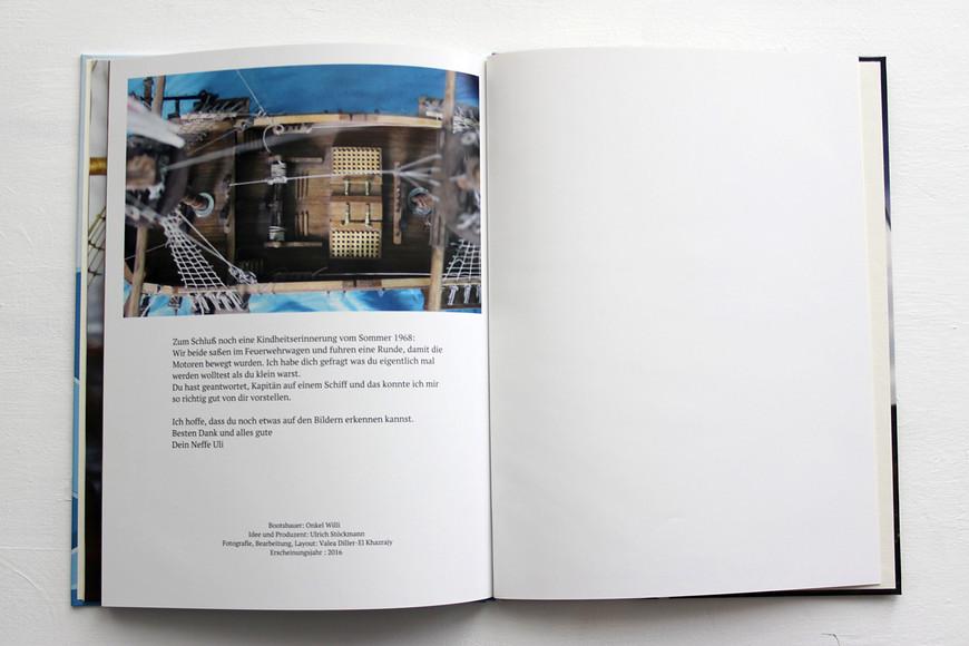 Fotobuch-design, Fotografien, Idee, Konzept und Layout