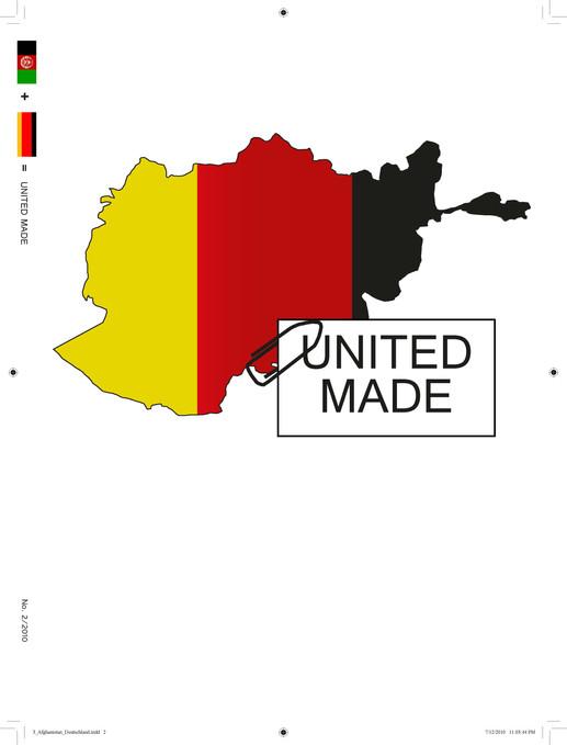 """Coverdesign für die Magazinreihe """"United made"""""""