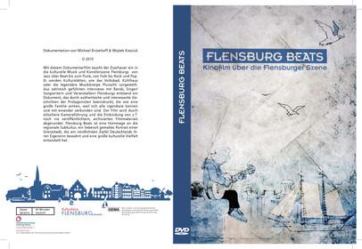 """DVD Artwork Cover von dem Film """"Flensburg Beats"""" (Vorder- und Rückseite)"""