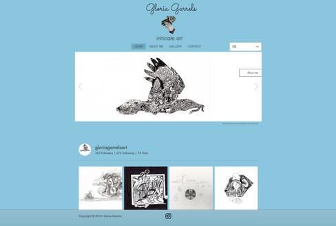 Webdesign Künstlerin