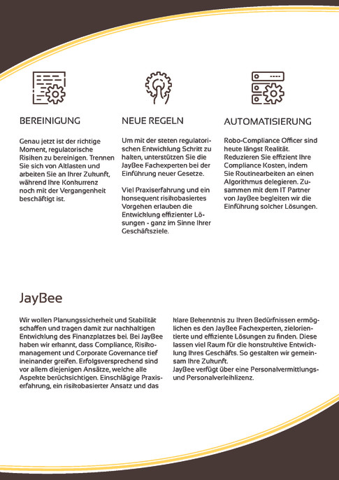 Whitepaper für Jaybee Complience Forces
