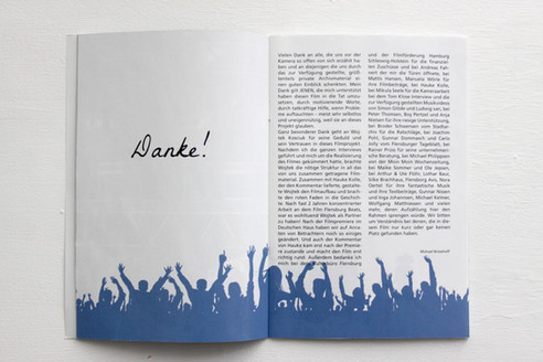 """DVD Artwork Innenseite des Booklets von dem Film """"Flensburg Beats"""""""