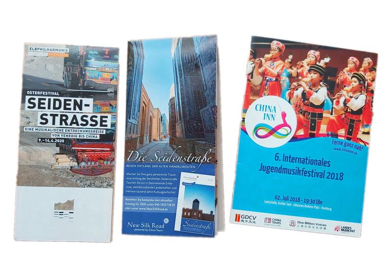 Anzeige im Elbphilharmonie Flyer