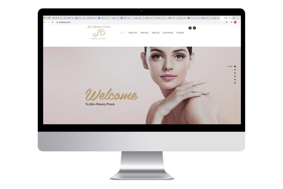 Webdesign Beautysalon