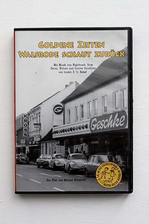 """DVD Artwork Cover für den Film """"Goldene Zeiten Walsrode schaut zurück"""" (Vorderseite)"""