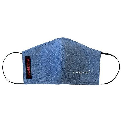 "Harry Grover & Cambridge' ""a way out"" Face Mask"