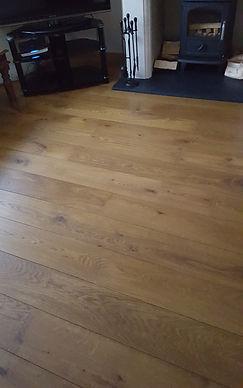 Rustic Solid Oiled Oak