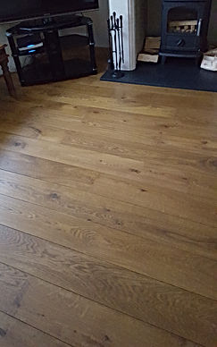 Rustic Solid Oiled Oak