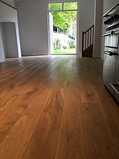 Rustic Solid Oak Oiled