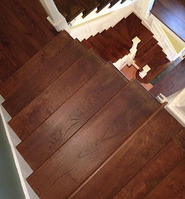 Resurfaced Stairs