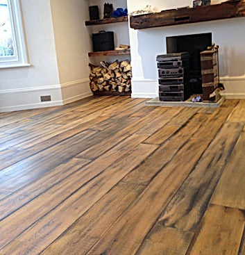Reclaimed Solid Oak