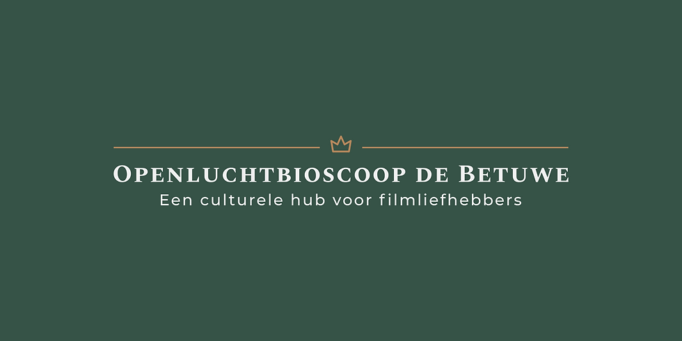 Openluchtbioscoop de Betuwe (Voucher)