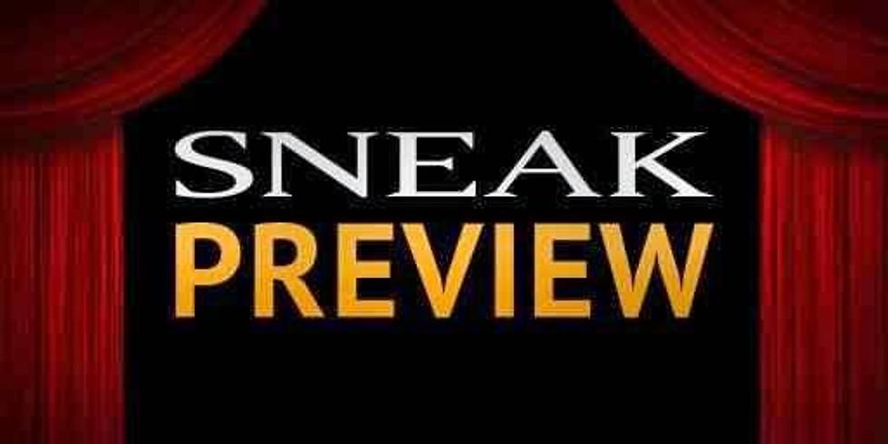 Zondagavond van 20:00 tot 23:00 - Sneak Preview!