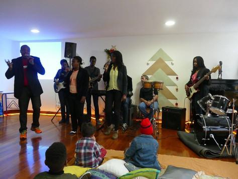 Festa de Natal com os utentes do CEPAC