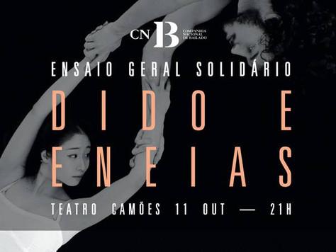 """Ensaio Geral Solidário: """"Dido e Eneias"""" a 11 Outubro de 2017"""