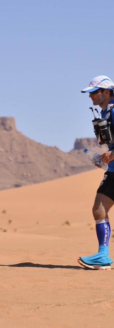 Guillaume Charbonneau Marathon des Sables Ouarzazate Maroc