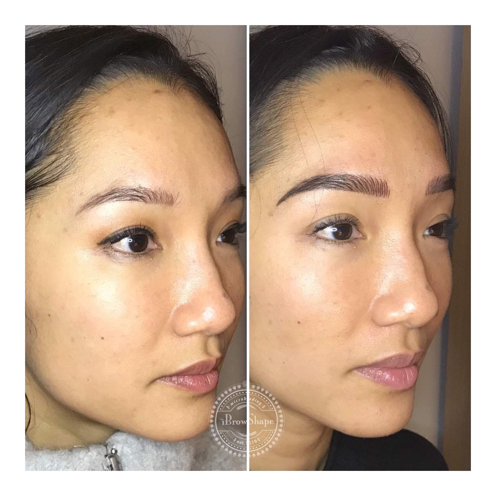 Ibrowshape_asianmicroblading_Toronto_semipermanentmakeup_beauty