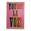Thumbnail: You are la voz! Poster by Letra Chueca Press