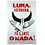 Thumbnail: Luna letterpress Art Print by Letra Chueca Press