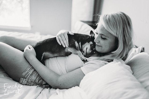 Sam and Jay Couple's Session with Dogs