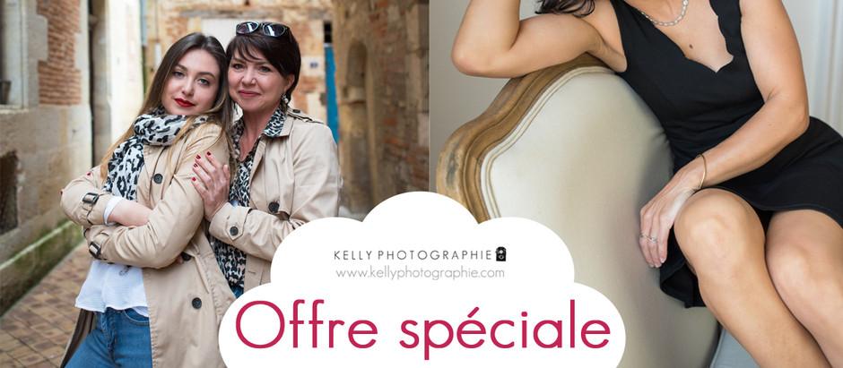 offre spéciale Fête des Mères - séances photo