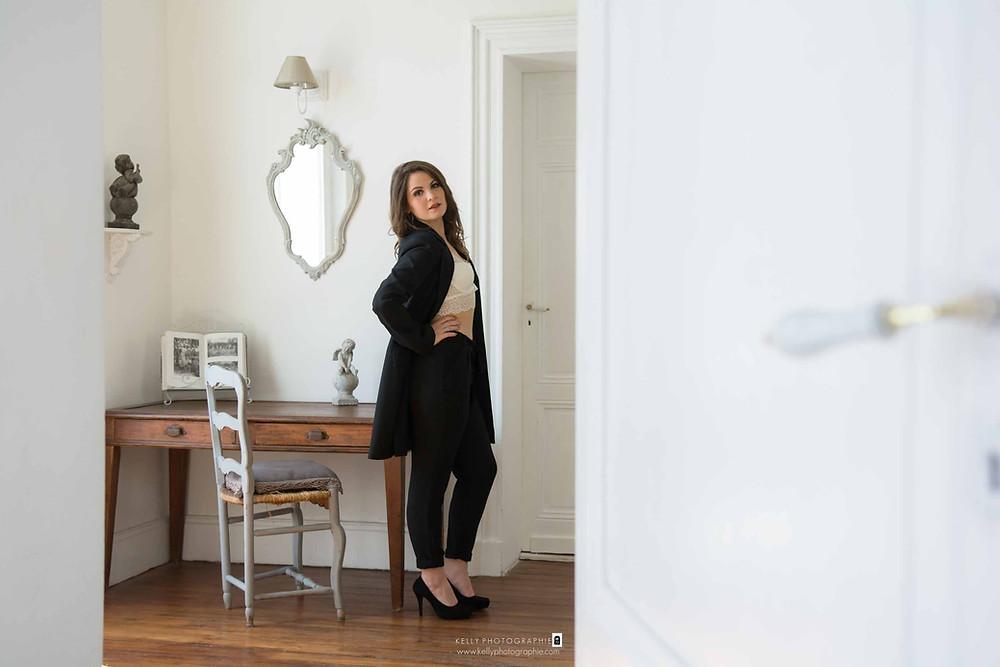 photographe glamour boudoir cadeau anniversaire 18 ans femme