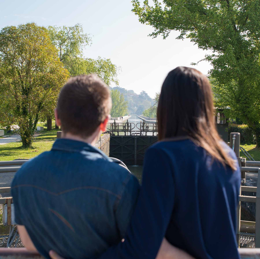 photos couple - Pont Canal Agen