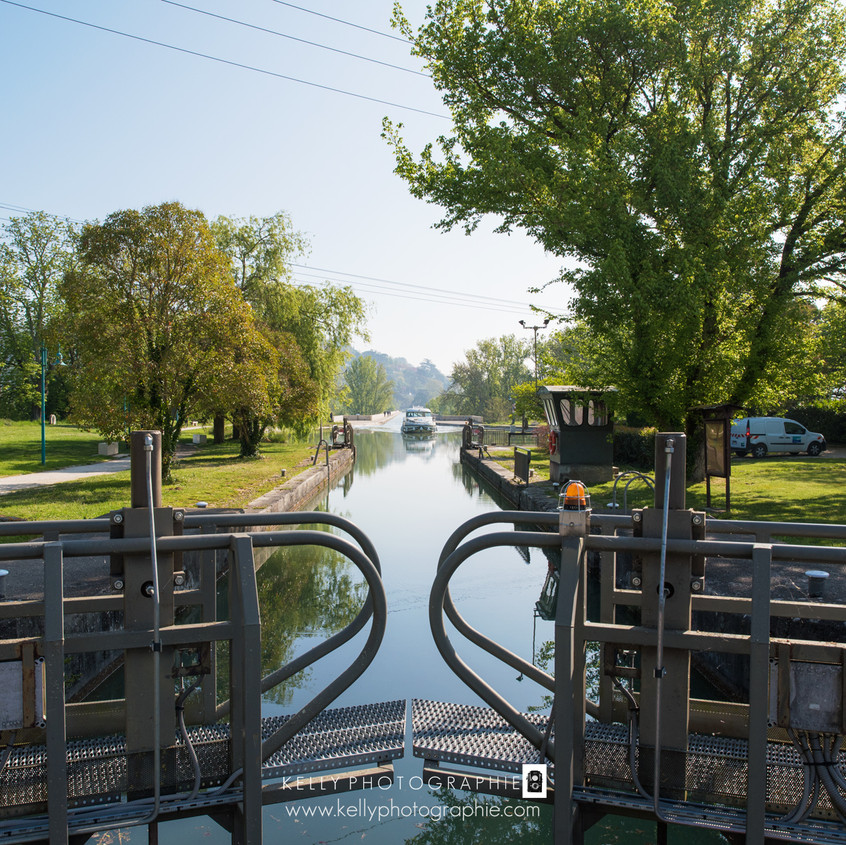pont canal à Agen