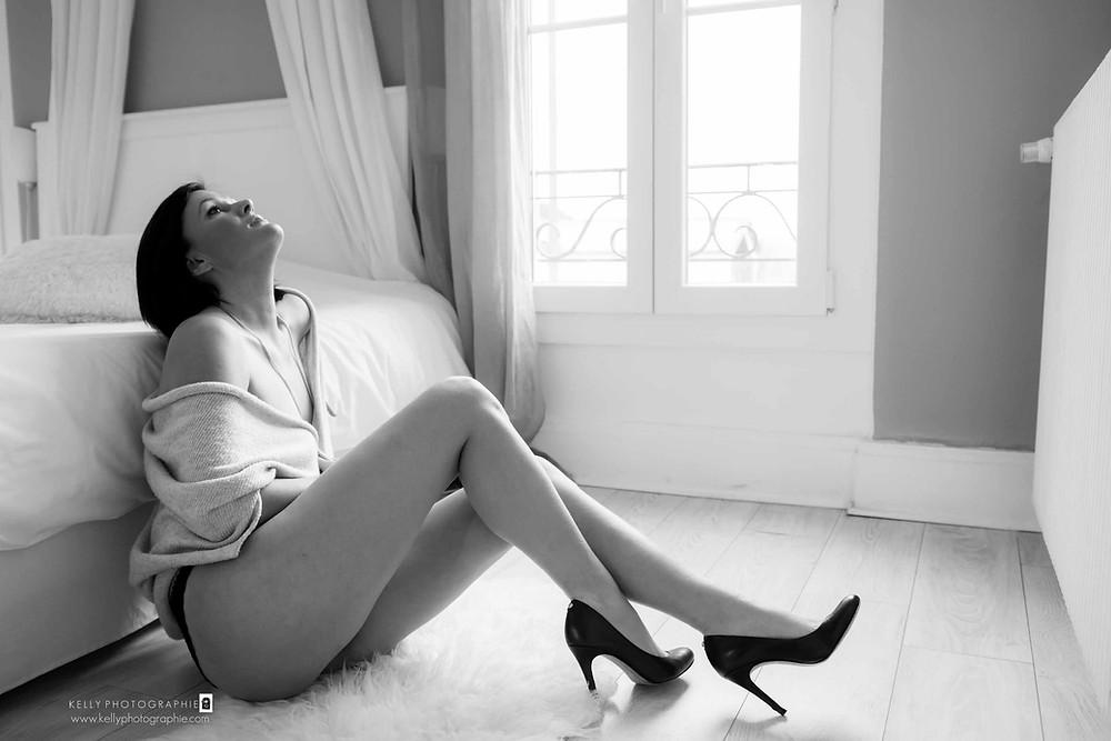 photographe agen boudoir glamour tenues séance photo escarpins