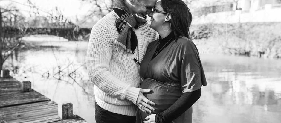 séance photo grossesse et naissance à Casseneuil puis à la maison