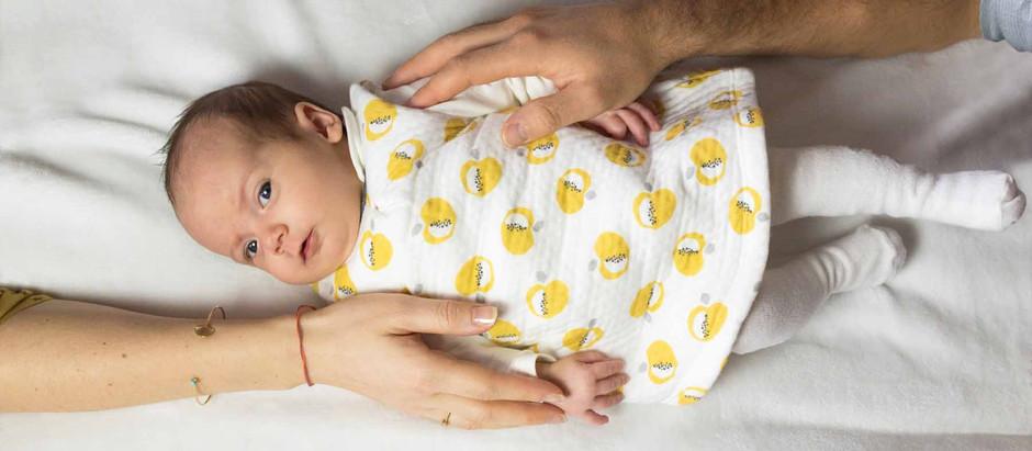 Trois petites filles - photos de naissance à domicile