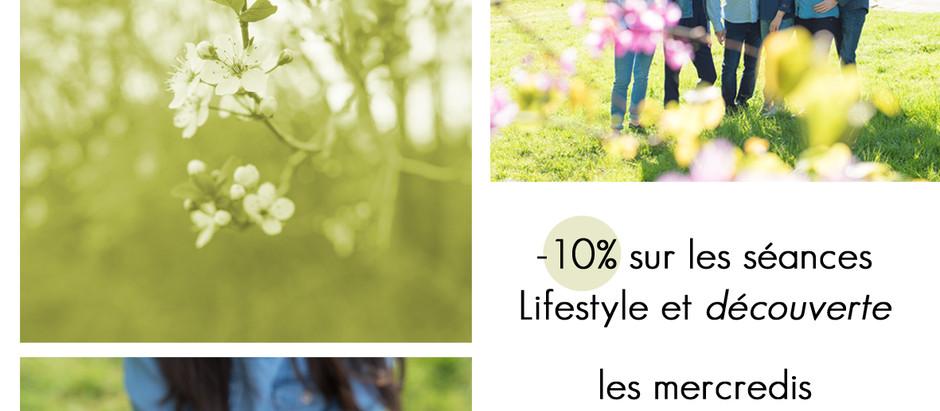 offre du printemps - séances photo Lifestyle