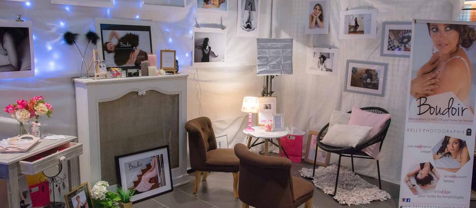 La photo Boudoir au salon Elle & Vous à Foulayronnes 3ème édition