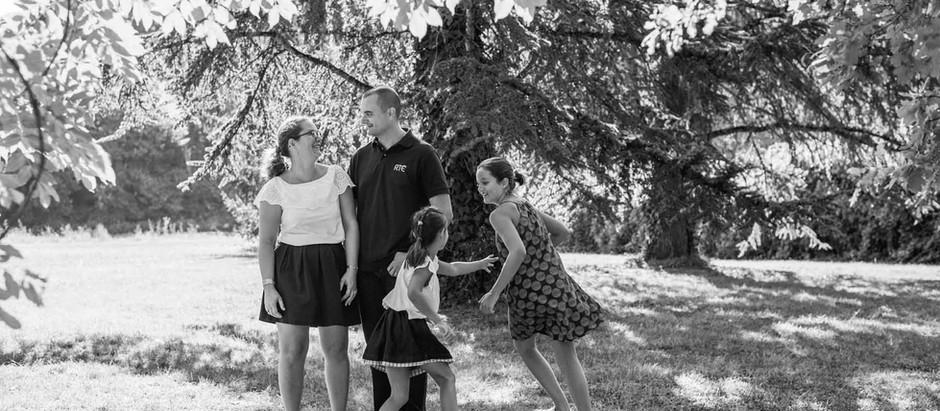 Quand les enfants grandissent, séance photo famille à Agen Boé
