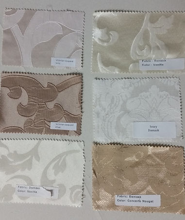 Victorian Jacquard and other Damask Nuetrals