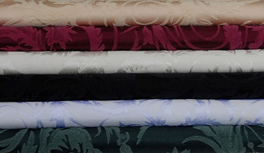 Traditional Damask color swatches
