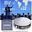 Thumbnail: epro D8S RK3368 2G 8G 3D Mini Projector 4K HD BT4.0  Portable Hologram Projector