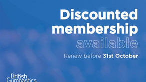 Don't forget to renew your BG membership