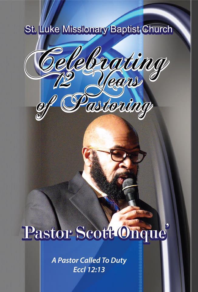 Pastor anniversay 12 years