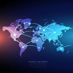digitale-weltkarte-von-linien-verbindung