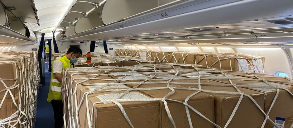 More than 150 aircraft reconfigured as mini freighters in 202026 / 01 / 2021By Damian BrettLast