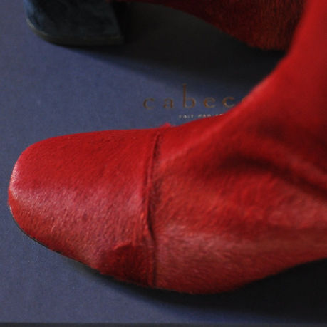 Boots Yeti rouge Cabeceo poulain confort