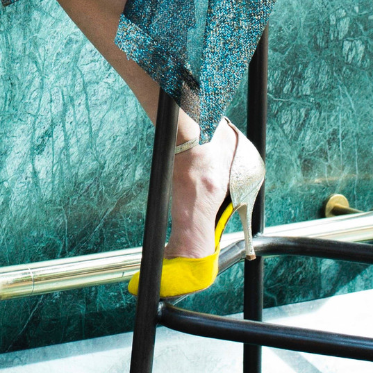 Portofino poulain jaune