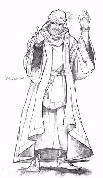 Buzurjmehr (Buzur) Sufi Mystic and Grand-Vizier of Emperor Akbar