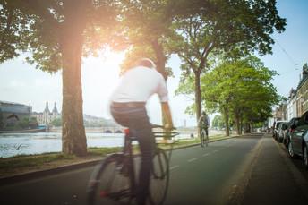 Bicycle at the lakes