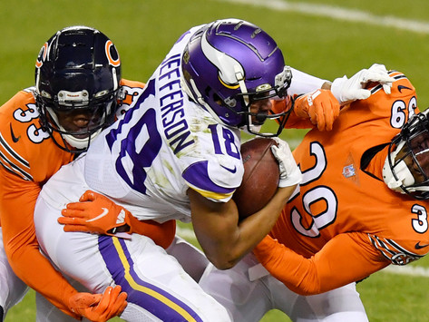 Vikings Win Third Straight, Defeat Bears 19-13