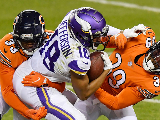 Vikings Win Third Straight, Defeat Bears 19-13