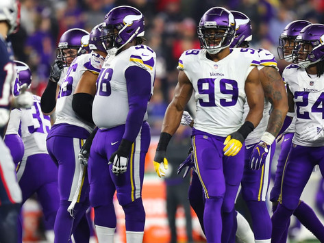 Vikings Make Roster Moves as Bye Week Comes Near