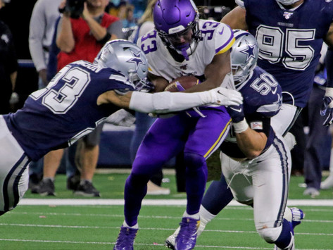 Vikings Look for Fourth Straight Win as They Host Cowboys